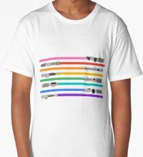 LGBT+ Lightsabers Long T-Shirt