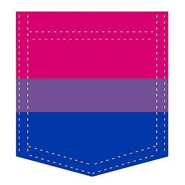 bisexual pride flag pocket by varnel