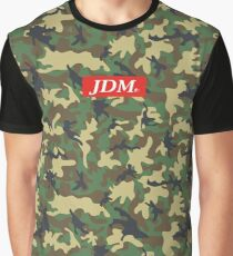 JDM - Supreme Camouflage Style   Graphic T-Shirt
