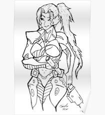 Female Raiden Poster