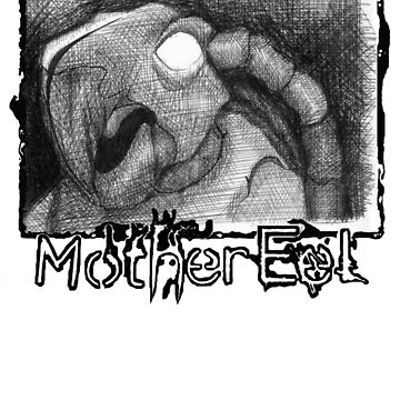 Mother Eel Black Turtle: ME Logo At Bottom by MotherEel