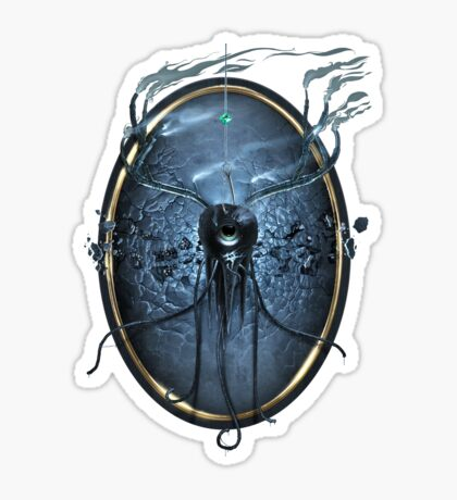 Decay - Digital Painting Sticker