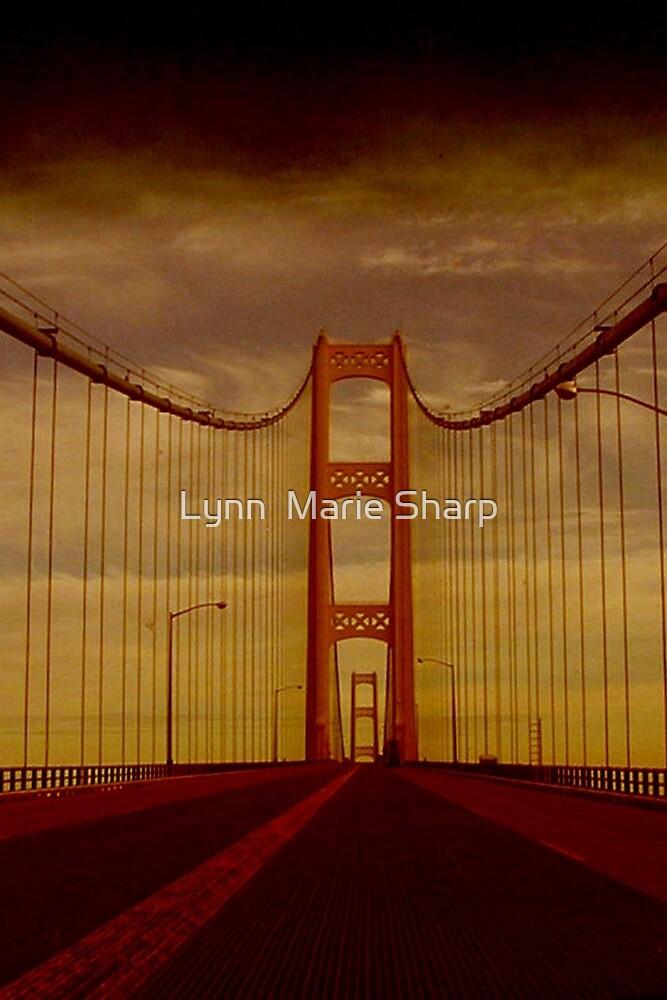Mackinac Bridge ~ Michigan ~ United States by Marie Sharp