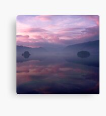 Borrowdale in Pink Canvas Print