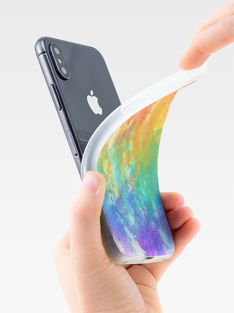 Vista alternativa de Funda y vinilo para iPhone LGBT +