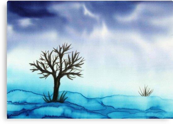 Landscape in Blue  by CarolineLembke