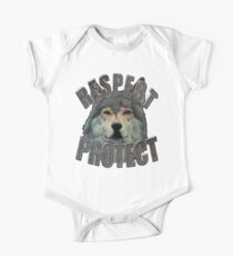 RESPECT PROTECT Wolf Design Kids Clothes