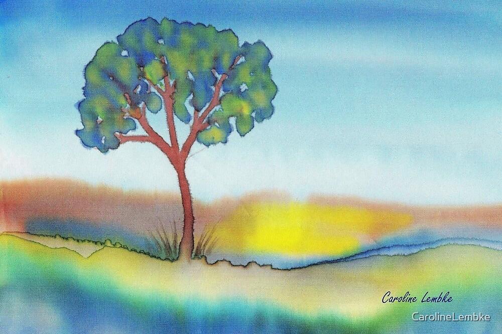 Lone Tree in Summer by CarolineLembke