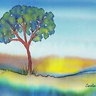 Lone Tree in Summer by CarolineLembke