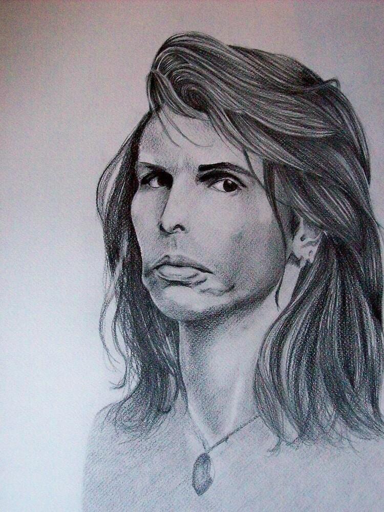 Steven Tyler by Roberta Ponte