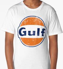 Gulf Racing Retro Long T-Shirt