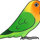 Lovebird Lilianae by Mariewsart