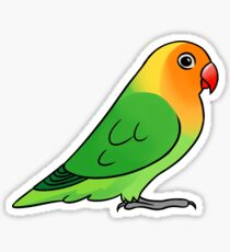 Lovebird Lilianae Sticker