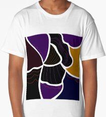 Luxury designers Edition : MOROCCO ETHNO Waves Long T-Shirt