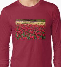 Tulip Fields Long Sleeve T-Shirt