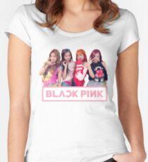 Blackpink 블랙핑크 - As If It's Your Last 마지막처럼 Women's Fitted Scoop T-Shirt