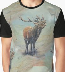 multi red deer stag. Graphic T-Shirt