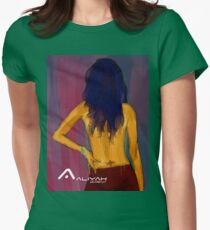 AALIYAH - RNB PRINCESS Womens Fitted T-Shirt