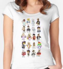 YGOTAS Catchphrases Women's Fitted Scoop T-Shirt
