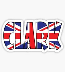 Clark (UK) Sticker