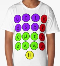 Particle Physics- The Standard Model Long T-Shirt