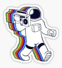 Rainbow Astronaut Sticker