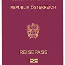 Austria Passport Cover - Fashion Design by Omar Dakhane