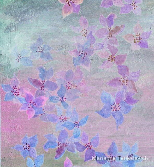 pale pastel garden by Marianna Tankelevich