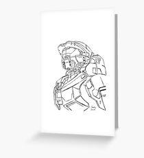 Master Chief - Halo Greeting Card