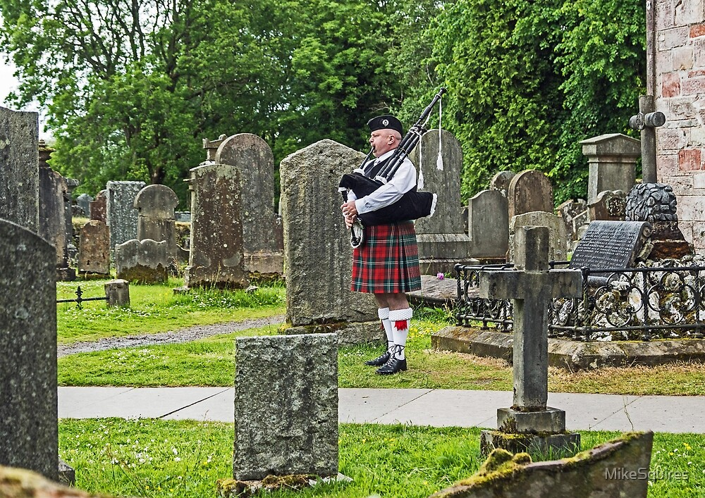 Graveyard Piper by MikeSquires