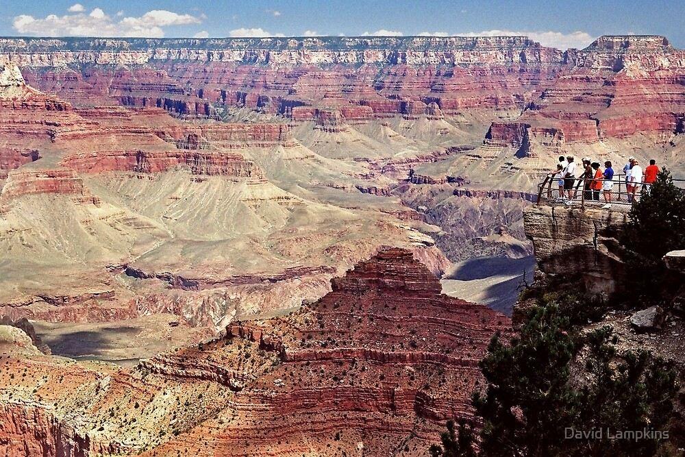 Canyon Overlook by David Lampkins