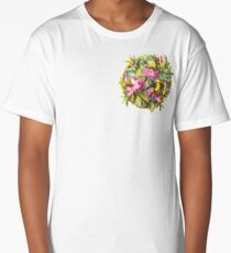Flowers and Birds 1 Long T-Shirt