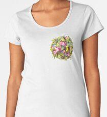 Flowers and Birds 1 Women's Premium T-Shirt