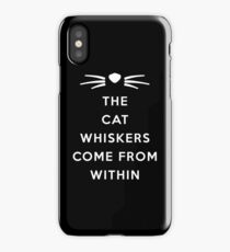 WHISKERS II iPhone Case
