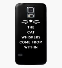 WHISKERS II Case/Skin for Samsung Galaxy