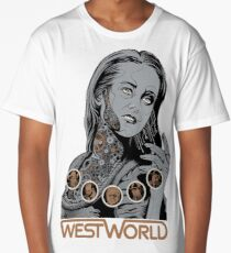 Westworld Dolores Long T-Shirt