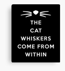 WHISKERS II Canvas Print