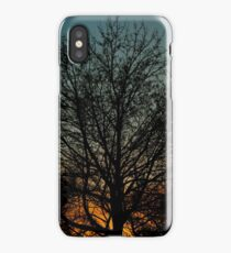 Sunset Sihouette iPhone Case