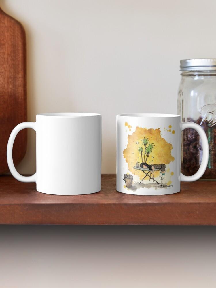 Alternate view of Wanderlust Mug
