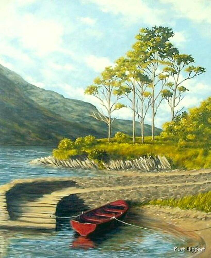 Irish Lakeside by Kurt Bippert