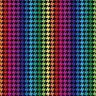 Rainbow Zigzag by Lisann
