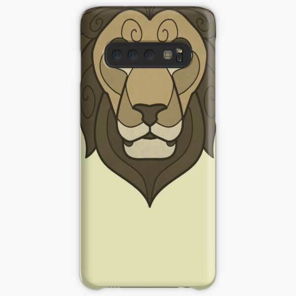Tribal lion mask Samsung Galaxy Snap Case