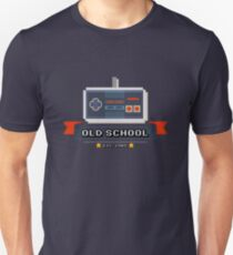 """Old School"" Pixel Art Controller Gamer Shirt Unisex T-Shirt"