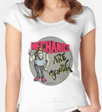 Mechanics are Beautiful Women's Fitted Scoop T-Shirt