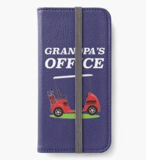 Grandpa's Office - Golf Cart iPhone Wallet/Case/Skin