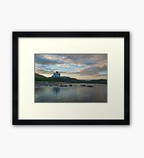 Bamburgh Lighthouse. Framed Print