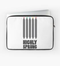Pilates - Highly Sprung Laptop Sleeve