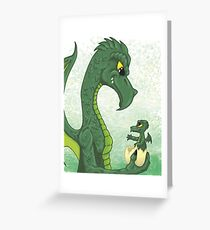 Momma and Baby Greeting Card