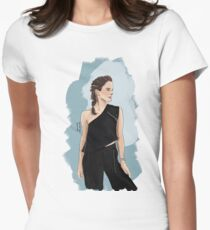 Emma Watson Womens Fitted T-Shirt