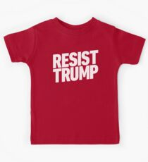 Resist Trump Kids Tee